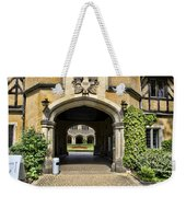 Entrance To Cecilienhof Palace Weekender Tote Bag