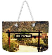Entrance To The High Chaparral Ranch Weekender Tote Bag
