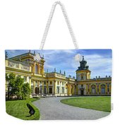 Entrance To Wilanow Palace - Warsaw Weekender Tote Bag