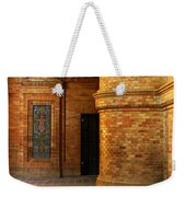 Entry To The Spanish Pavillion In Sevilla Spain Weekender Tote Bag