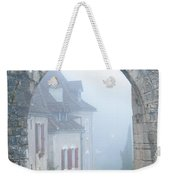 Entryway To St Cirq In The Fog Weekender Tote Bag