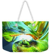Envious Thoughts Abstract Weekender Tote Bag