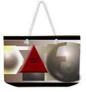 Equality Equation Weekender Tote Bag