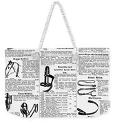 Equestrian Equipment, 1895 Weekender Tote Bag