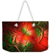 Eruption - Abstract Art Weekender Tote Bag