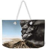 Eruption Of Mount St. Helens Weekender Tote Bag