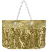 Escaping To Underground Railroad Weekender Tote Bag