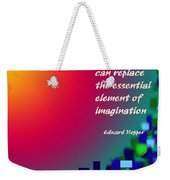 Essential Elements Weekender Tote Bag