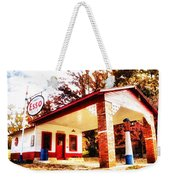 Esso Filling Station Weekender Tote Bag