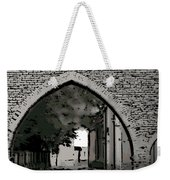 Estonia Old Town Wall Weekender Tote Bag