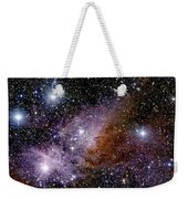 Eta Carinae Nebula, Infrared Image Weekender Tote Bag