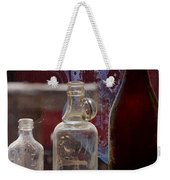 Etched Glass Weekender Tote Bag