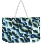 Etched Silicon Wafer Weekender Tote Bag