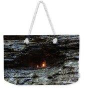 Eternal Flame Reflections Weekender Tote Bag