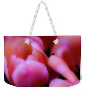 Ethereal Pink Tulips Weekender Tote Bag