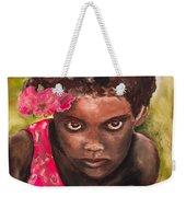 Etiopien Girl Weekender Tote Bag