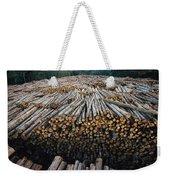 Eucalyptus Stacked Lumber Weekender Tote Bag