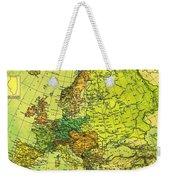 Europe Map Of 1911 Weekender Tote Bag