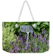 European Markets - Lavender Weekender Tote Bag