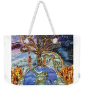Eve-olution Of Sin Weekender Tote Bag