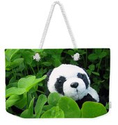 Even Pandas Are Irish On St. Patrick's Day Weekender Tote Bag