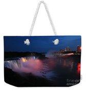 Evening At Niagara Weekender Tote Bag