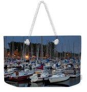 Evening At The Marina Weekender Tote Bag