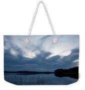 Evening Clouds Over Haukkajarvi Weekender Tote Bag