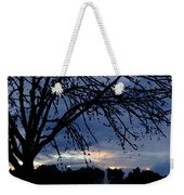 Evening Falls On Youth's Fountain Weekender Tote Bag