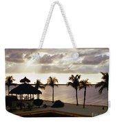 Evening In The Keys - Key Largo Weekender Tote Bag