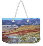 Evening In The Painted Hills Weekender Tote Bag