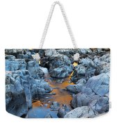 Evening Light On The Black River At Johnsons Shut Ins State Park IIi Weekender Tote Bag