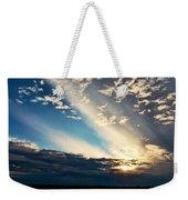 Evening Rays Weekender Tote Bag