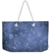 Evening Snow Weekender Tote Bag