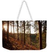 Evening Sun Rays Weekender Tote Bag