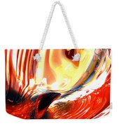 Evil Intent Abstract Weekender Tote Bag
