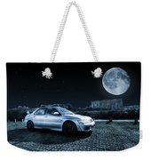 Evo 7 At Night Weekender Tote Bag