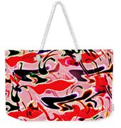 Evolve Abstract Painting Weekender Tote Bag