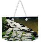 Exmoor National Park Crossing Bridge Weekender Tote Bag