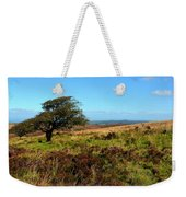 Exmoor's Heather-covered Hills Weekender Tote Bag