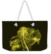Explosive Yellow Weekender Tote Bag