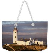 Exterior Of Fanad Lighthouse Fanad Weekender Tote Bag