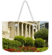 Exterior Of The Athens Academy, Greece Weekender Tote Bag