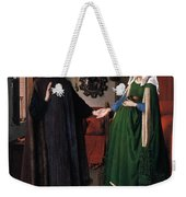 Eyck: Arnolfini Marriage Weekender Tote Bag