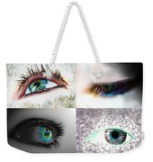 Eye Art Collage Weekender Tote Bag