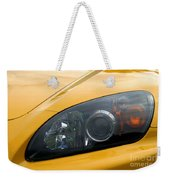 Eye Of A Car Weekender Tote Bag
