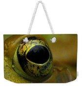 Eye Of Frog Weekender Tote Bag