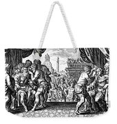 Eye Surgery, Historical Engraving Weekender Tote Bag