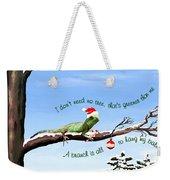 Ezekiels Christmas Weekender Tote Bag