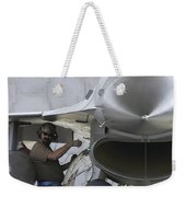 F-16 Fighting Falcon Is Ready To Head Weekender Tote Bag